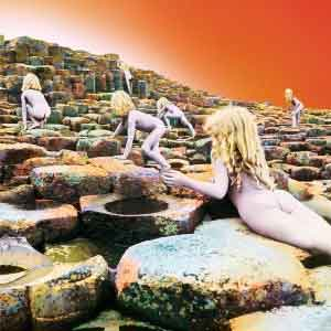 Led Zeppelin Houses of the Holy LP 1973 Waardering Uitmuntend