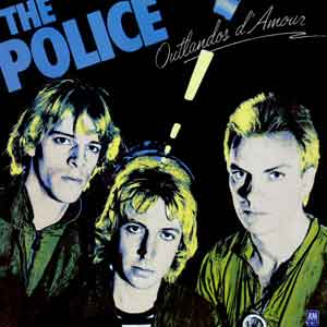 Police Outlandos d'Amour LP 1978 Waardering Uitmuntend