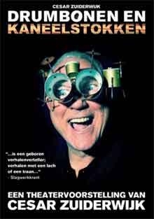 Cesar Zuiderwijk DVD Drumstokken en Kaneelstokken
