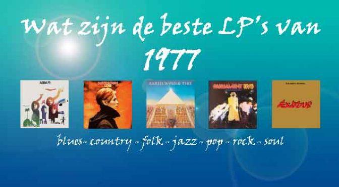 1977 Beste LP Albums Muziek Overzicht