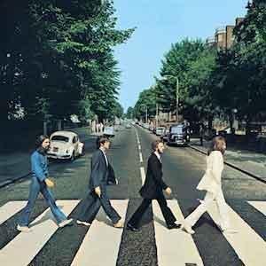 The Beatles Abbey Road LP 1969 Nummers Waardering