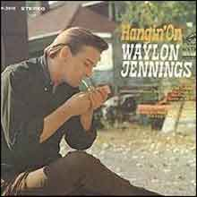Waylon Jennings Hangin' On Country LP 1968