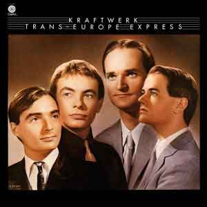 Kraftwerk Trans-Europe Express LP 1977 Waardering Uitmuntend
