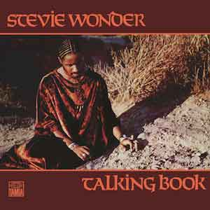 Stevie Wonder Talking Book LP 1972 Waardering Uitmuntend
