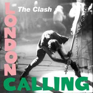 The Clash London Calling Punk LP 1979 Waardering Uitmuntend