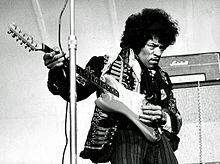 Beste Gitaristen ter wereld Jimi Hendrix