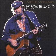 Neil Young Freedom Album uit 1989