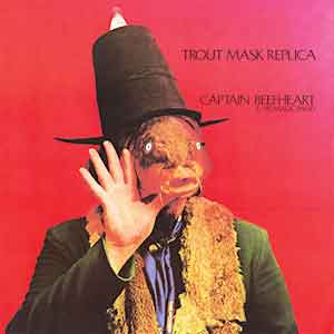Captain Beefheart Trout Mask Replica LP 1969 Uitmuntend Album