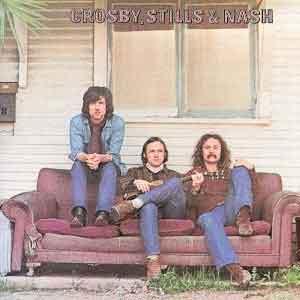 Crosby Stills & Nach LP 1968 Nummers Waardering Uitmuntend