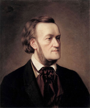 Richard Wagner - Schilderij van Cäsar Willich