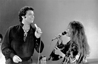 Tom Jones en Janis Joplin