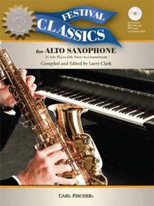 Festival Classics for Alto-Saxophone Saxofoon Muziekboek