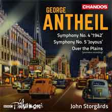 George Antheil Orchestral Works Vol 1 BBC Philharmonic CD