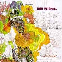 Joni Mitchel Debuut LP Song to a Seagull 1968