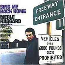 Merle Haggard Sing Me Back Home Country LP 1968