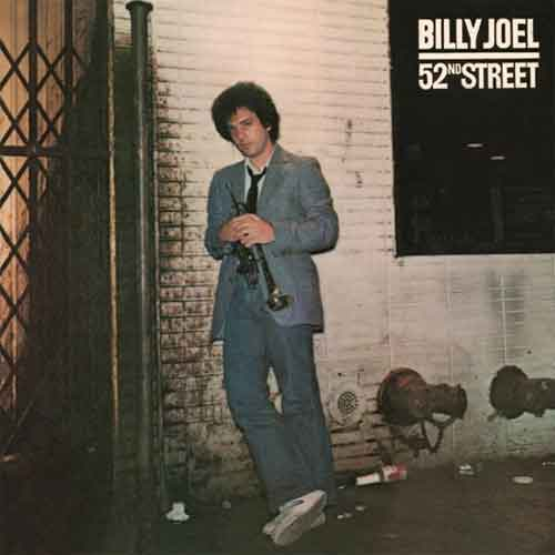 Billy Joel 52nd Street Eerste CD in de Winkel
