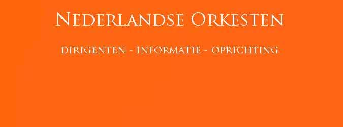 Nederlandse Orkesten