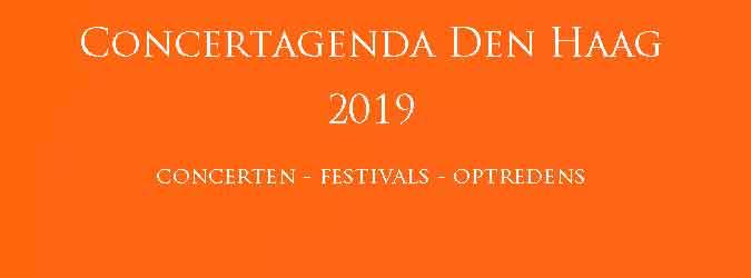 Concertagenda Den Haag 2019 Concerten Festivals