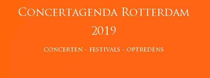 Concertagenda Rotterdam 2019 Concerten Festivals
