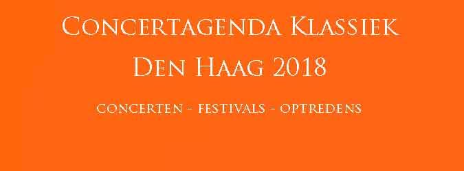 Klassieke Concerten Den Haag 2018 Concertagenda