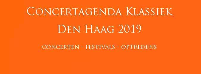Klassieke Concerten Den Haag 2019 Concertagenda