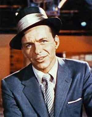 Frank Sinatra Amerikaanse Jazzzanger