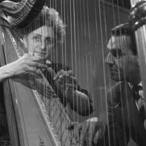 Rosa Spier Nederlandse Harpiste