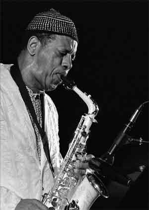 Jazzsaxofonisten Ornette Coleman