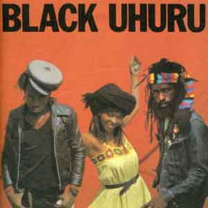 Black Uhuru Red LP uit 1982