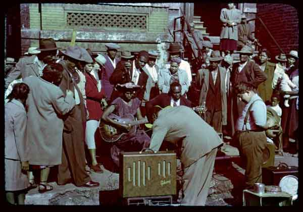 Chicago Blues Muzikanten Circa 1950