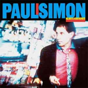 Paul Simon Hearts and Bones LP uit 1984