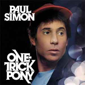 Paul Simon One Trick Pony LP uit 1980