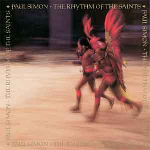 Paul Simon The Rhythm of the Saints LP uit 1990