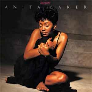 Anita Baker Rapture LP uit 1986