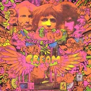 Cream Disraeli Gears LP uit 1967