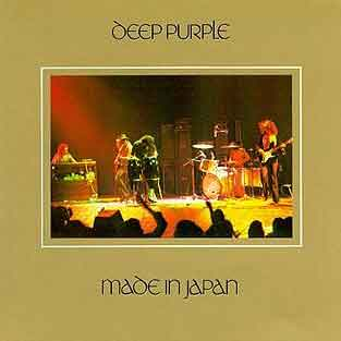 Deep Purple Made in Japan - Live LP