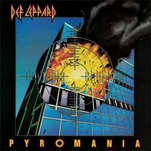 Def Leppard Pyromania LP uit 1983