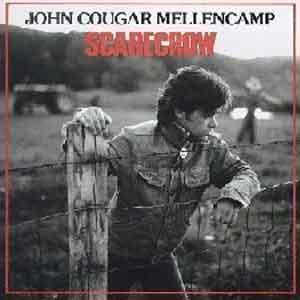John Cougar Mellencamp Scarecrow LP uit 1985