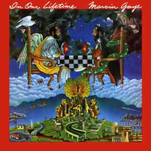 Marvin Gaye In Our Lifetime LP uit 1981