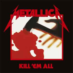 Metallica Kill 'Em All Debuut LP uit 1983