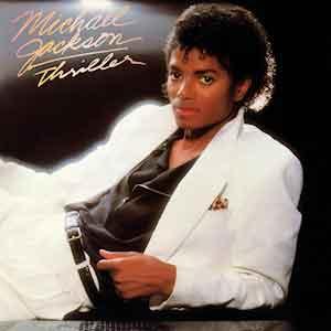 Michael Jackson Thriller LP uit 1982