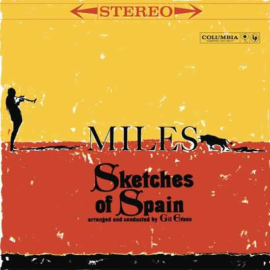 Miles Davis Sketches of Spain LP uit 1960