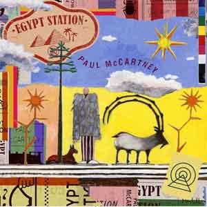 Paul McCartney Egypt Station LP uit 2018