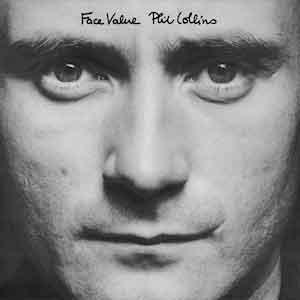 Phil Collins Face Value LP uit 1981