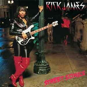 Rick James Street Songs Funk LP iuit 1981