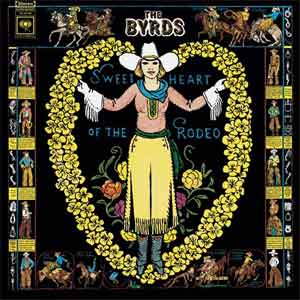 The Byrds Sweethearts of the Rodeo LP uit 1968