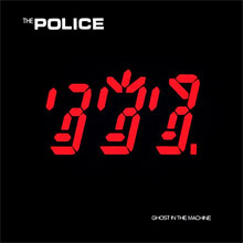 The Police Ghost in the Machine LP uit 1981