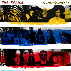The Police Synchronicity LP uit 1983