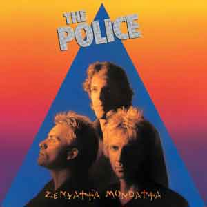 The Police Zenyatta Mondatta LP uit 1980