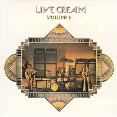 Cream Live Cream Volume II Live LP uit 1972